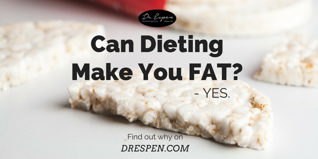 will dieting make you fat You could be sabotaging your weight loss by turning to the wrong foods certain reduced fat, low-calorie and sugar-free foods claim they are dieter-friendly - but often turn out to be your worst choice.